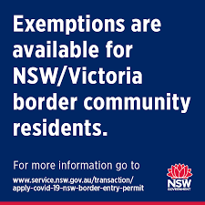 New south wales/victorian border communities will continue to have exceptions and will be able to use local residence identification to cross the border. Nsw Health Border Community Residents Who Travel Between Victoria And Nsw For Work Care Or Medical Treatment Are Eligible For A Permit For More Information Go To Https Www Service Nsw Gov Au Transaction Apply Covid 19 Nsw Border Entry Permit