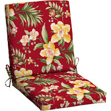 seat cushions for outdoor metal chairs. beautiful impressive red elegant walmart patio chair cushions floral pattern seat for outdoor metal chairs i