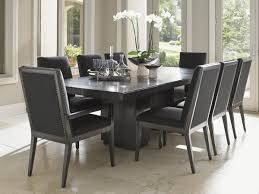 7 piece black dining room set. Dining Room:Grey Table And Chairs Black Room Nine Piece Set 7
