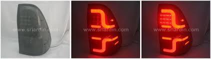 Revo Led Lights Toyota Hilux Revo 15 Smoke Light Bar Led Tail Lamp