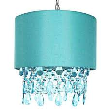 poetic wander by tracy porter 1 light blue pendant with cascading crystals