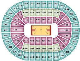 Seat Map Quicken Loans Arena Best Seat 2018