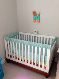Crib Rail Cover Pattern Custom Design Ideas