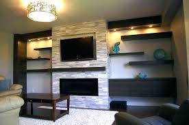 fireplace designs with tv above corner ideas delightful gas