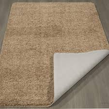 bott rug runners with non skid backing ottomanson luxury collection camel solid runner slip rubber bathroom