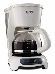 It also includes a lift and clean filter basket. Mr Coffee 4 Cup Switch Maker White Tf4 For Sale Online Ebay
