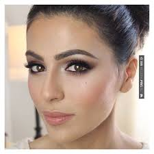 gorgeous wedding make up for brown eyes liked on polyvore featuring beauty s