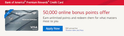 Maybe you would like to learn more about one of these? Bank Of America Premium Rewards Credit Card Review 50 000 Point Bonus 100 Annual Travel Credit More Doctor Of Credit