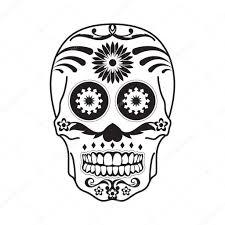 мексиканские татуировки мексиканские череп татуировки в черном на