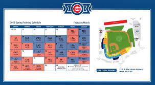A Look At Cubs Spring Training Season Tickets Bleed Cubbie