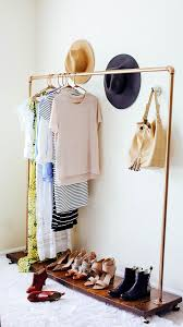 16 ways to use copper piping outside the bathroom diy clothes rack