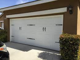 Decoration Decorative Strap Hinges For Garage Doors Holmes Garage ...