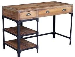 rustic desk home office. Rustic Office Table Interior Design Desk Lovely Wood Writing . Desks Home A