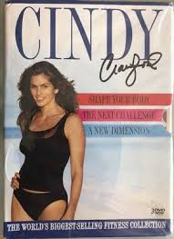 cindy crawford shape your body next challenge new dimension dvd box sealed