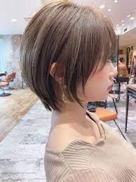 40 代 髪型 ショート ボブ