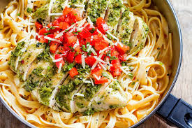 boneless chicken recipes with pasta. Plain With Pesto Chicken Pasta On Boneless Recipes With U