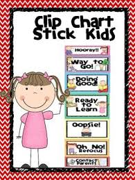 Behaviour Clip Chart Behavior Clip Chart Stick Kids With Parent Chart