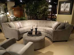 New Gray Silver Round Sectional. I loved this new 2013 sectional and  ottoman, great