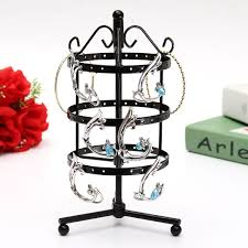 Earring Display Stand Diy 100 Earring Display Stand Amazoncom 100 Tiers Bronze Rotating Spin 57