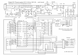 lf hardware a digital dc powersupply the final circuit in big as png pdf the values in square brackets are for the 30v version