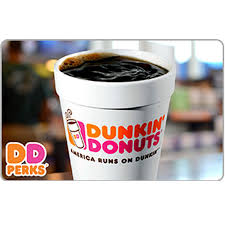dunkin donut gift card 25 50 or 100 fast email delivery 1 of 1 see more