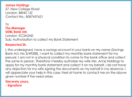 Authorization Letter For Bank How To Write It 6 Free Samples