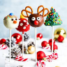 Gluten Free Christmas Cake Pops 4 Ways The Loopy Whisk