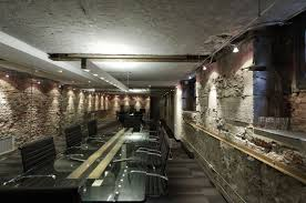 office conference room decorating ideas. lemaymichaud montreal canada the ultra cool subterranean meeting room of architecture design compact halogen downlights accentuate office conference decorating ideas