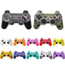 Bluetooth denetleyicisi için PS3 Gamepad PC Playstation 3 konsolu kablosuz oyun  kolu Sony Playstation 3 için PC anahtarı denetleyicisi|Gamepads