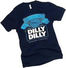 Dilly Dilly Bud Light T Shirt Anheuser Busch Dilly Dilly Bud Light Label Adult T Shirt
