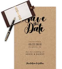 exle of wedding save the date templates in word with agenda prop