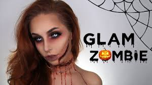 glam zombie makeup tutorial with love nadia