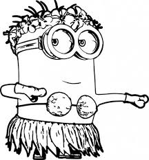 Small Picture Minion Christmas Coloring Pages Part 2