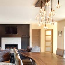astounding hanging chandelier above dining table photo inspirations impressive hanging chandelier above