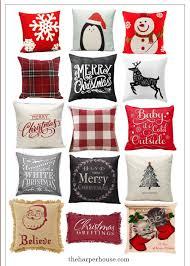 Cheap Decorative Pillows Under 10 Unique Cheap Christmas Pillows The Harper House