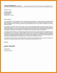 Job Application Letters For Nurse   Free Sample  Example