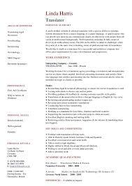 Sample Resume Translator Skills 9 10 Interpreter Resume Template Juliasrestaurantnj Com