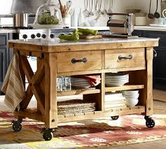 Hamilton Reclaimed Wood Marble Top Kitchen Island Good Ideas