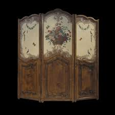 Folding Screen Hand Made French Country Folding Screen Room Divider By Windwood