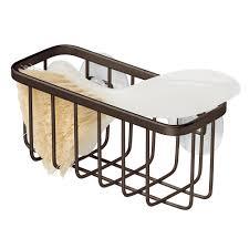 suction cup sink center sponge holder