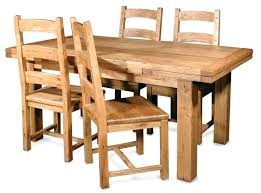 solid oak dining chair unfinished wood dining table have four dining chairs that made of solid