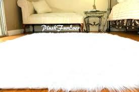 faux fur area rugs faux fur rug white faux sheepskin area rug white lambskin faux fur area rugs