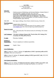Personal Interest List Resume Eliolera Com