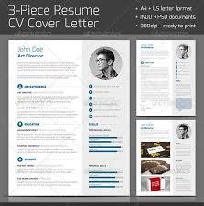 28 Minimal & Creative Resume Templates - Psd, Word & Ai (free