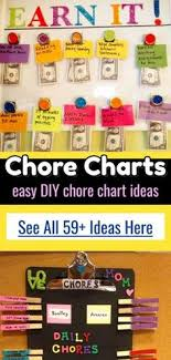 Daily Chore Chart Ideas 97 Best Chore Charts Kids Diy Ideas Images In 2019