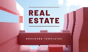 Best Brochure Templates Best Real Estate Brochure Design Templates Tumli