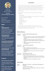 Unix Sys Administration Sample Resume 10 Top 8 Linux System