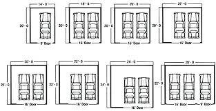 3 car garage size garage length standard 3 car garage size 2 car garage