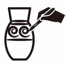 陶芸シルエット イラストの無料ダウンロードサイトシルエットac