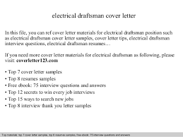 electrical draftsman cover letter in this file you can ref cover letter materials for electrical draftsman cover letter
